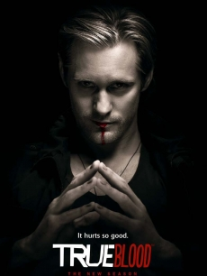 Alexander Skarsgard as Eric Northman in character art for HBO's 'True Blood' Season 2