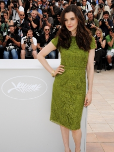 The glamorous Rachel Weisz attends the &#8216;Agora&#8217; photocall held at the Palais Des Festivals during the 62nd International Cannes Film Festival on May 17, 2009