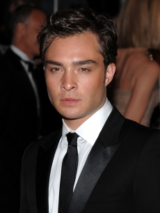 Ed Westwick at the Met&#8217;s Costume Institute Gala in New York (May 4, 2009)