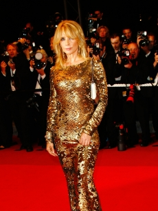 Rosanna Arquette attends the 'Antichrist' premiere held at the Palais Des Festivals during the 62nd International Cannes Film Festival on May 18, 2009