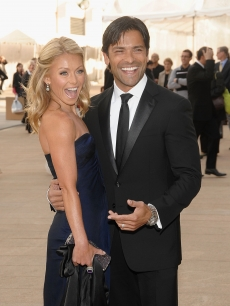 Kelly Ripa and Mark Consuelos attend the 69th annual American Ballet Theatre spring gala at The Metropolitan Opera House on May 18, 2009 in New York City