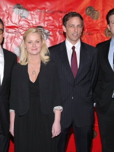 Fred Armisen, Amy Poehler, Seth Meyers and Jason Sudeikis of Saturday Night Live are awarded during the 68th annual George Foster Peabody Awards at The Waldorf=Astoria on May 18, 2009 in New York City