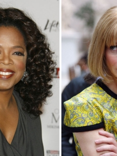 Oprah and Vogue Editor-In-Chief Anna Wintour