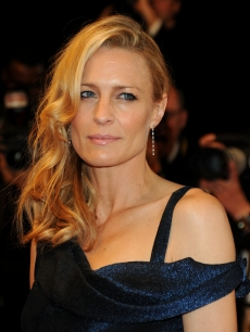 Robin Wright Penn attends the Vincere Premiere held at the Palais des Festivals during the 62nd International Cannes Film Festival on May 19, 2009 in Cannes