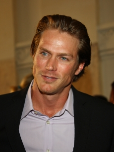 Jason Lewis attends the BVLGARI event in Rome, Italy, May 20, 2009