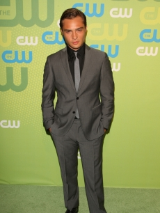 Ed Westwick attends the 2009 The CW Network UpFront at Madison Square Garden on May 21, 2009 in New York