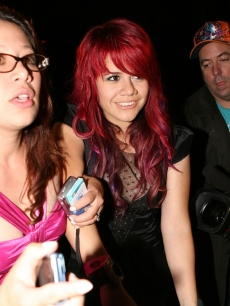 'Idol' star Allison Iraheta out and about at the Mondrian Hotel on May 21, 2009 in West Hollywood, California