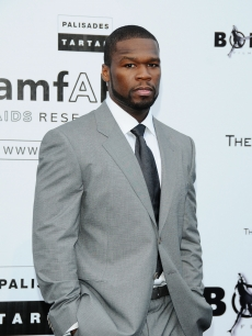 50 Cent arrives for the amfAR Cinema Against AIDS 2009 benefit at the Hotel du Cap during the 62nd Annual Cannes Film Festival on May 21, 2009