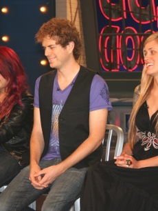 Allison Iraheta, Scott MacIntyre and Megan Joy