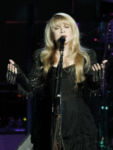Stevie Nicks of Fleetwood Mac performs at the Honda Center on May 23, 2009 in Anaheim, California