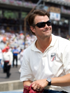Josh Duhamel attends the 93rd running of the Indianapolis 500 at Indianapolis Motor Speedway on May 24, 2009 in Indianapolis, Indiana