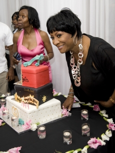 Patti LaBelle attends her 65th Birthday party at Ms. Tootsie's RBL on May 24, 2009 in Philadelphia, Pennsylvania