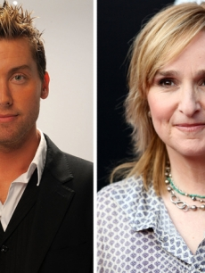 Lance Bass, Melissa Etheridge