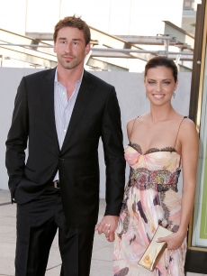 Marko Jaric and Adriana Lima attend the American Ballet Theatre's Noche Latina peformance of 'Don Quixote' on June 10, 2008 at the Metropolitan Opera House at Lincoln Center