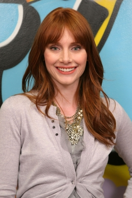 Bryce Dallas Howard visits fuse's 'No. 1 Countdown' at fuse Studios on May 21, 2009 in New York City