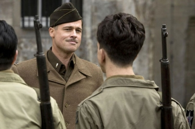Brad Pitt as Aldo Raine in 'Inglourious Basterds'