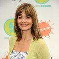 Paulina Porizkova attends the 3rd Annual Baby Buggy bedtime bash at Victorian Gardens at Wollman Rink Central Park on June 2, 2009
