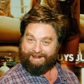 Zach Galifianakis at a charity poker tournament on May 15, 2009 in Las Vegas