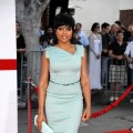 Taraji P Henson strikes a pose at the Premiere Of Columbia Pictures&#8217; &#8216;The Taking Of Pelham 1 2 3&#8217; on June 4, 2009 in LA
