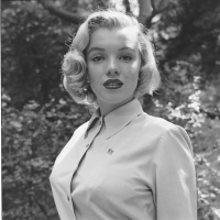 Marilyn Monroe at a photo shoot in Griffith Park, Los Angeles, California, August 1950