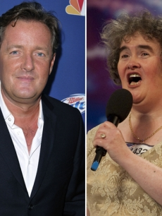 Piers Morgan, Susan Boyle
