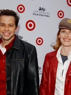 Jon Cryer and Sarah Trigger at the Wadsworth Theater in Los Angeles in 2003