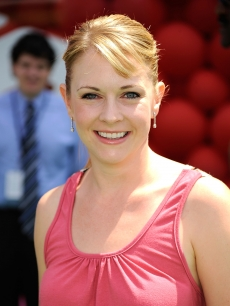 Melissa Joan Hart arrives at the premiere of Disney Pixar's ''Up'' at the El Capitan Theatre on May 16, 2009 in Hollywood