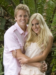 Spencer Prat and Heidi Montag in a promo shot for NBC&#8217;s &#8220;I&#8217;m A Celebrity&#8230;Get Me Out Of Here&#8217;