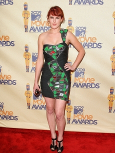 Rumer Willis arrives at the 18th Annual MTV Movie Awards held at the Gibson Amphitheatre on May 31, 2009 in Universal City, California