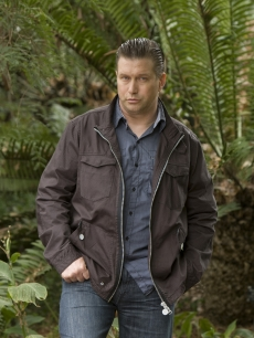 Stephen Baldwin shoots a promo for NBC's summer reality show 'I'm A Celebrity…Get Me Out Of Here'