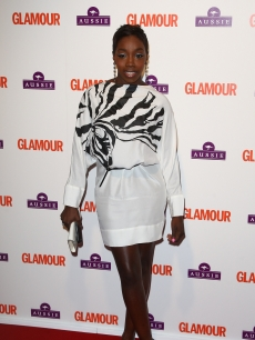 Estelle arrives at the Glamour Women of the Year Awards 2009 at Berkeley Square Gardens on June 2, 2009 in London, England