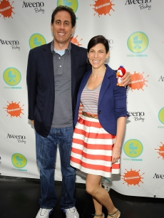 Jerry Seinfeld and Jessica Seinfeld attend the 3rd Annual Baby Buggy Bedtime Bash at Victorian Gardens at Wollman Rink Central Park on June 2, 2009