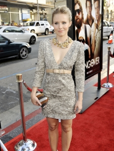 Kristen Bell arrives at the premiere of Warner Bros. Pictures&#8217; &#8216;Hangover&#8217; at the Chinese Theater on June 2, 2009 in Los Angeles, California