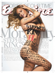 Bar Refaeli on the July 2009 cover of Esquire