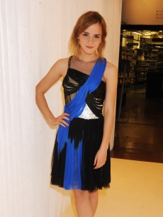 Emma Watson attends the Rodarte Private Dinner on June 3, 2009 in London