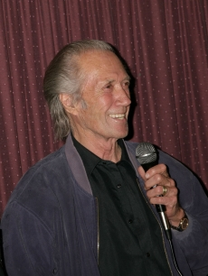 David Carradine promotes &#8216;Break&#8217; on May 1, 2009, in LA