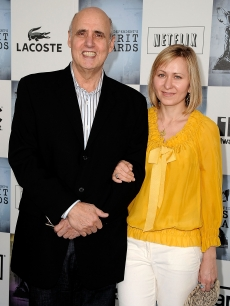 Jeffrey Tambor and wife Kasia Ostlun
