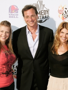 'Full House' cast members John Stamos, Jodie Sweetin, Bob Saget, Lori Loughlin and Dave Coulier attend Comedy Central's Roast of Bob Saget on August 3, 2008