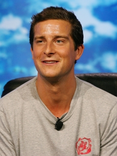 Bear Grylls speaks during a Discovery Channel presentation at the Television Critics Association Press Tour at the Beverly Hilton Hotel July 13, 2007