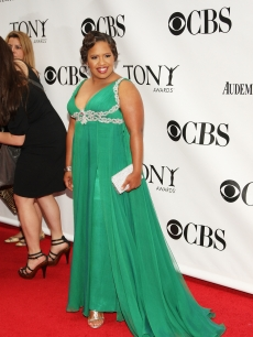 Chandra Wilson goes green at the 63rd Annual Tony Awards at Radio City Music Hall on June 7, 2009 in New York City