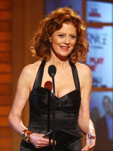 Susan Sarandon speaks onstage during the 63rd Annual Tony Awards on June 7, 2009 in New York City