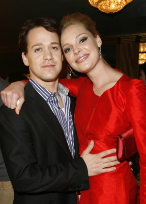 Katherine Heigl and T.R. Knight at the Young Hollywood Awards, 2007
