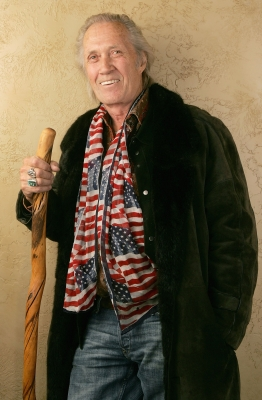 David Carradine from the film 'Homo Erectus' poses for a portrait during the 2007 Slamdance Film Festival on January 24, 2007 in Park City, Utah