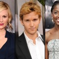 Anna Paquin, Ryan Kwanten and Rutina Wesley at the 'True Blood' Season 2 premiere in LA (June 9, 2009)