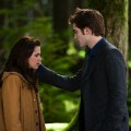 'New Moon' promotional still from a scene with Edward and Bella