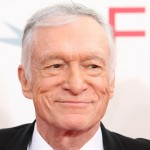 Hugh Hefner at the AFI Lifetime Achievement Award tribute to Michael Douglas in LA (June 11, 2009)