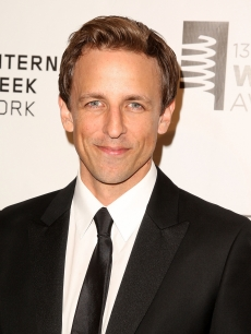 SNL funnyman Seth Meyers attends The 13th Annual Webby Awards at Cipriani Wall Street on June 8, 2009 in New York City
