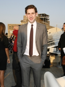 John Krasinski strikes a pose at the third annual benefit gala for the American Institute For Stuttering on June 8, 2009 in New York City