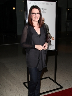 Megan Mullally arrives at the Los Angeles premiere of &#8216;Whatever Works&#8217; at the Pacific Design Center on June 8, 2009
