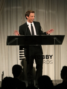 Seth Meyers hosts the 13th Annual Webby Awards at Cipriani Wall Street on June 8, 2009 in New York City
